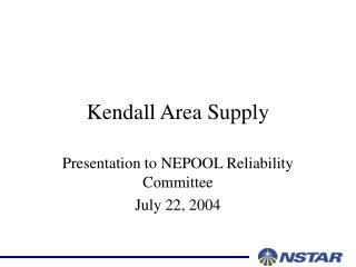 Kendall Area Supply