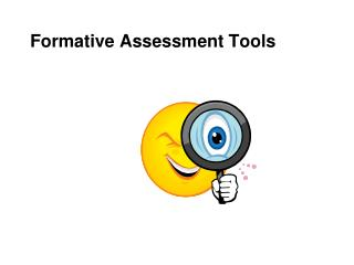 Formative Assessment Tools