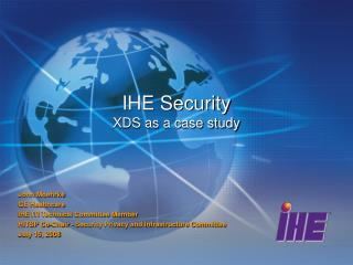 IHE Security XDS as a case study