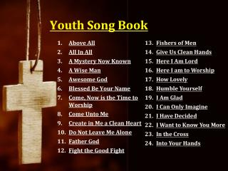 Youth Song Book