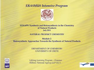 ERASMUS Intensive Program