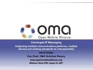 Converged IP Messaging