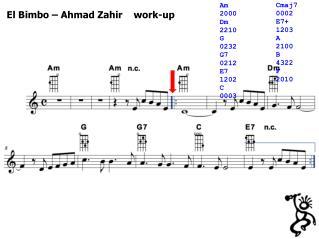 El Bimbo – Ahmad Zahir    work-up