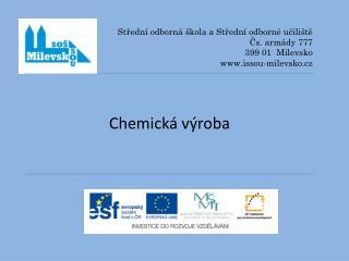 Chemická výroba