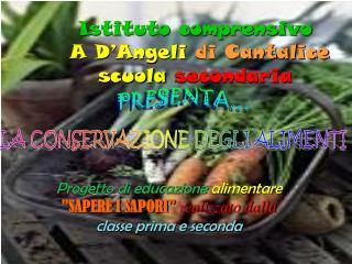 Istituto comprensivo  A D Angeli di Cantalice  scuola secondaria