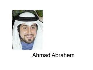 Ahmad Abrahem
