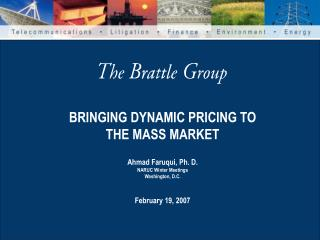 BRINGING DYNAMIC PRICING TO THE MASS MARKET
