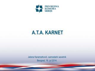 A.T.A. KARNET