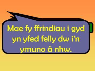 Mae'n gwneud i fi edrych yn h ŷn