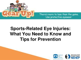 Sports-Related Eye Injuries