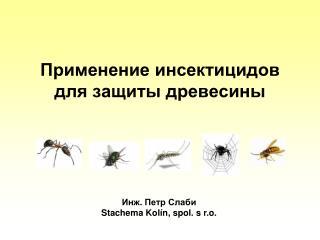Применение инсектицидов для защиты древесины