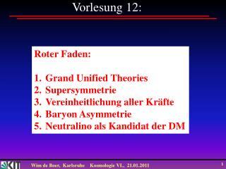 Vorlesung 12: