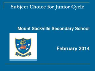 Subject Choice for Junior Cycle