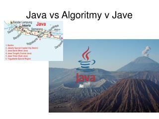 Java vs Algoritmy v Jave