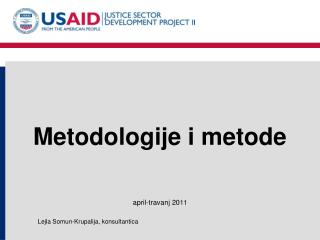 Metodologije i metode