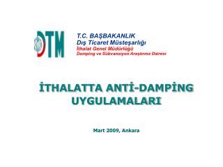Mart 2009, Ankara