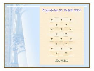 Bryllup den 20. august 2005