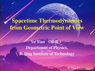 Spacetime Thermodynamics from Geometric Point of View