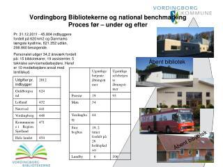 Vordingborg Bibliotekerne og national benchmarking Proces før – under og efter