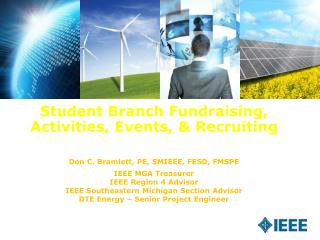 Student Branch Fundraising, Activities, Events, & Recruiting