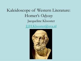 Kaleidoscope of Western Literature: Homer's  Odyssey