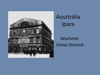 Ausztrália  Ipara