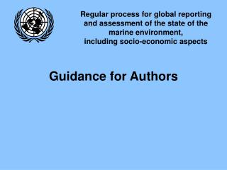 Guidance for Authors