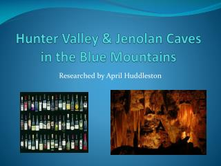 Hunter Valley & Jenolan Caves in the Blue Mountains