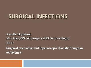 Surgical Infections