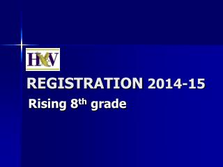REGISTRATION  2014-15