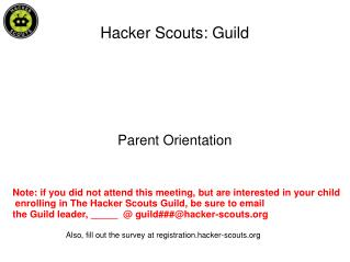 Hacker Scouts: Guild