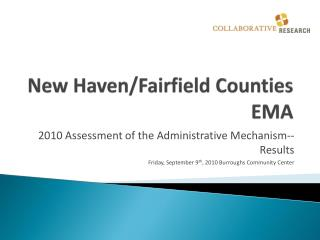 New Haven/Fairfield Counties EMA