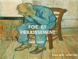 FOIE  ET VIEILLISSEMENT