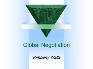 Global Negotiation