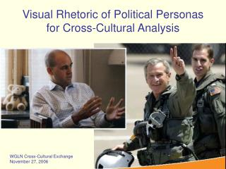Visual Rhetoric of Political Personas  for Cross-Cultural Analysis