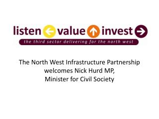 The North West Infrastructure Partnership welcomes Nick Hurd MP,  Minister for Civil Society