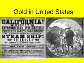 Gold in United States