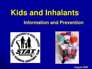 Kids and Inhalants