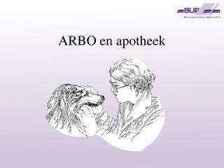 ARBO en apotheek