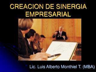 CREACION DE SINERGIA EMPRESARIAL