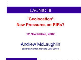 LACNIC III