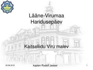 Lääne-Virumaa  Haridusepäev