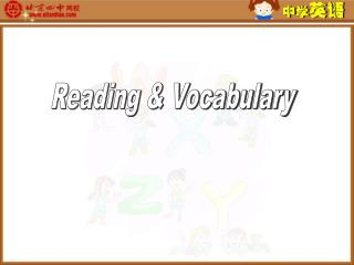 Reading & Vocabulary
