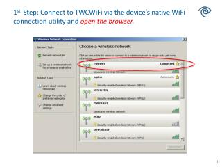 TWC subscribers and Visitor Login