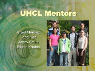 UHCL Mentors