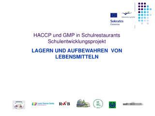 HACCP und GMP in Schulrestaurants  Schulentwicklungsprojekt