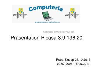 Präsentation Picasa 3.9.136.20