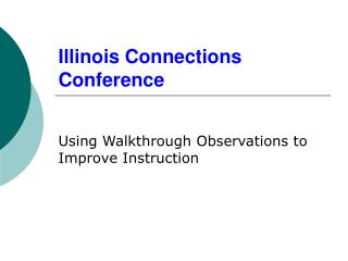 Illinois Connections Conference