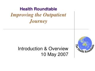 Health Roundtable Improving the Outpatient Journey