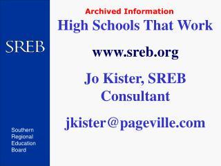 Southern Regional Education Board